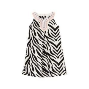 GYMBOREE Wild For Zebra Animal Print Shift Dress 5